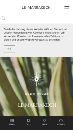 Le Marrakech Orientalisches Möbelhaus In Hamburg
