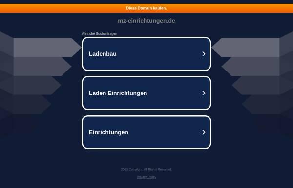 Vorschau von www.mz-einrichtungen.de, MZ Einrichtungen