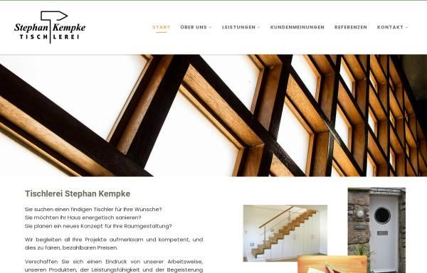 Vorschau von www.tischlerei-kempke.de, Stephan Kempke Tischlerei