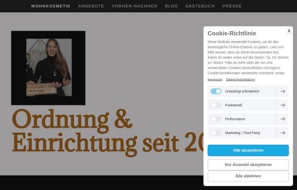 Vorschau von wohnkosmetik.de, Wohnkosmetik, Inh. Constanze Köpp