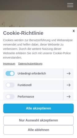 Vorschau der mobilen Webseite www.verhaltenstherapie-bhv.de, Verhaltenstherapie - Dipl.-Psych. Matthias Früh & Dipl.-Psych. Dieter Werthwein