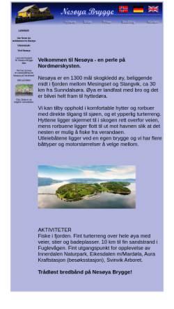 Vorschau der mobilen Webseite www.fjordfiske.com, Fjordfiske.com