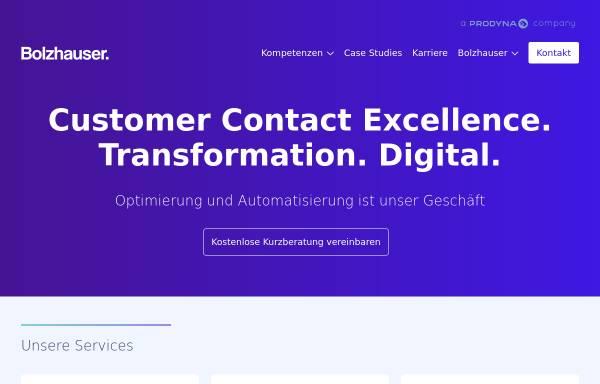 Vorschau von www.bolzhauser.de, Marcus Bolzhauser Unternehmensberatung GmbH