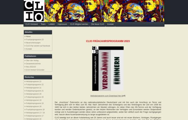 Vorschau von www.clio-graz.net, Verein für Geschichts- und Bildungsarbeit Clio