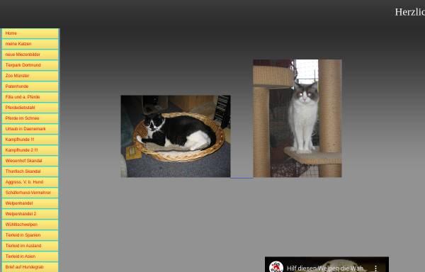 Vorschau von rabanus-wessels.beepworld.de, Hunde, Katzen und andere Tiere