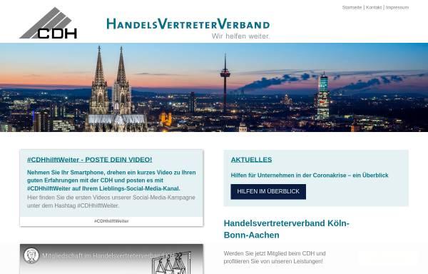 Vorschau von www.cdhkoeln.de, Handelsvertreterverband Köln-Bonn-Aachen e.V.