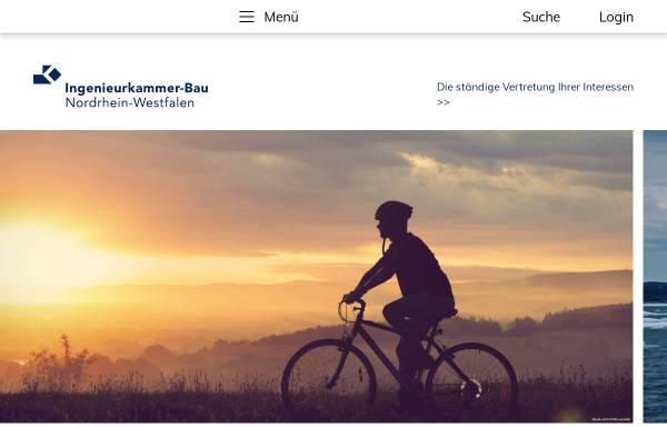 Vorschau von www.ikbaunrw.de, Ingenieurkammer-Bau Nordrhein-Westfalen