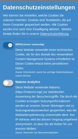 Vorschau der mobilen Webseite www.vvwl-transport.de, Verband Verkehrswirtschaft und Logistik Nordrhein-Westfalen e.V. (VVWL)