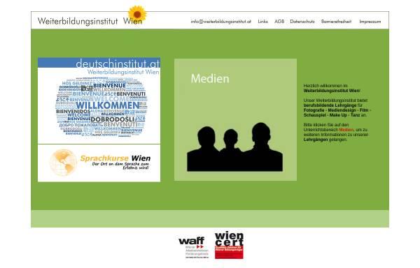Vorschau von www.deutschinstitut.at, Weiterbildungsinstitut Wien