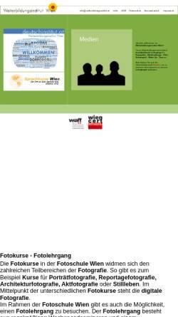 Vorschau der mobilen Webseite www.deutschinstitut.at, Weiterbildungsinstitut Wien
