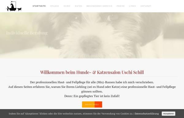 Vorschau von www.eifel-hundesalon.de, Hunde- und Katzensalon Uschi Schill