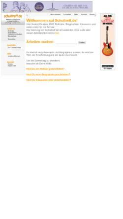 Vorschau der mobilen Webseite www.schultreff.de, Schultreff.de
