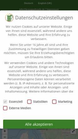 Vorschau der mobilen Webseite www.braugasthoefe.com, Private Braugasthöfe