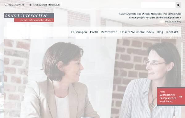 Vorschau von www.smart-interactive.de, Smart interactive