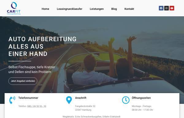 Vorschau von www.carfit-hamburg.de, Car Fit, Inh. Peter Bock e.K.