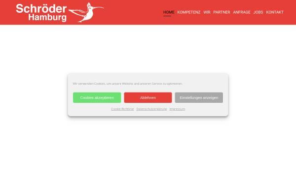 Vorschau von www.schroeder-hamburg.de, Schröder Abschleppdienst