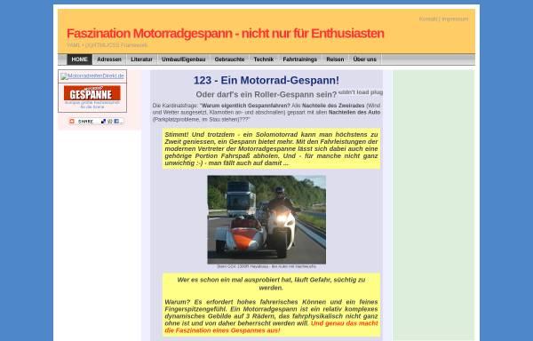 Vorschau von 123-motorradgespanne.de, 123-MotorradGespanne München