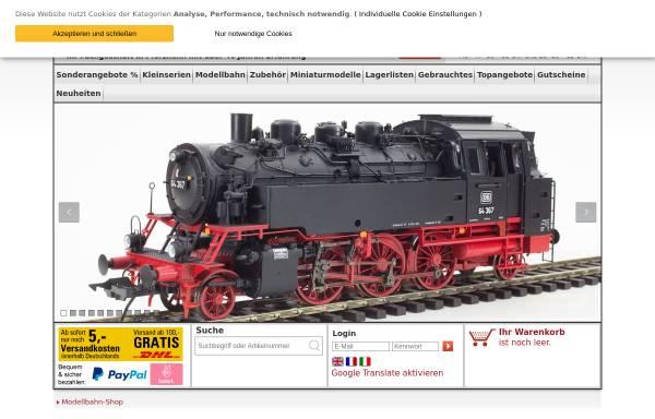 Vorschau von www.modellbahn-seyfried.de, ModellBahn-Seyfried