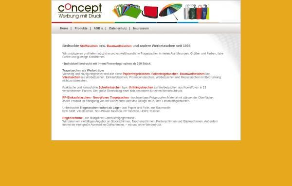 Vorschau von www.concept-ma.de, Concept Marketing GmbH