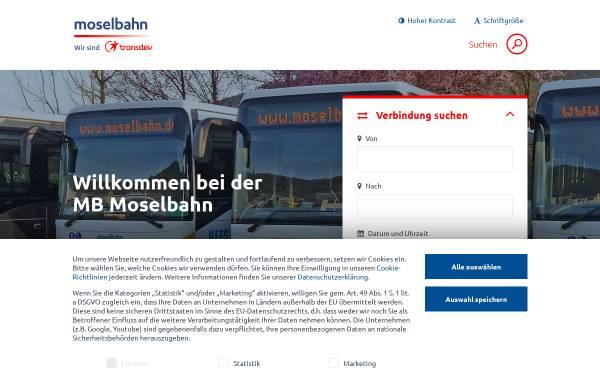 Vorschau von www.moselbahn.de, Moselbahn-Gesellschaft mbH