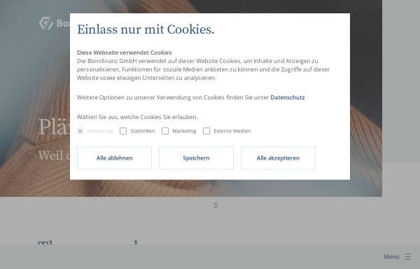 Vorschau von www.bonnfinanz.de, Bonnfinanz AG