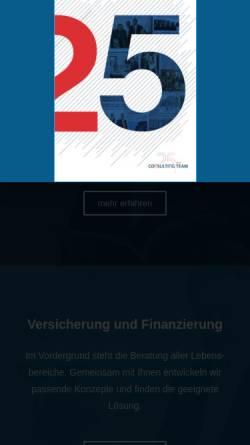 Vorschau der mobilen Webseite www.consulting-team.de, Consulting Team Vermögensverwaltung AG