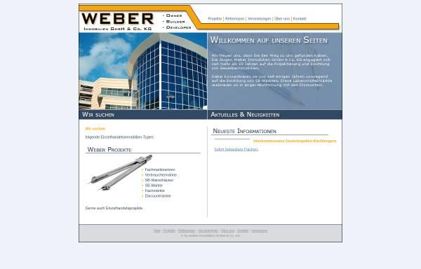 Vorschau von www.immoweber.de, Jürgen Weber Immobilien GmbH & Co. KG