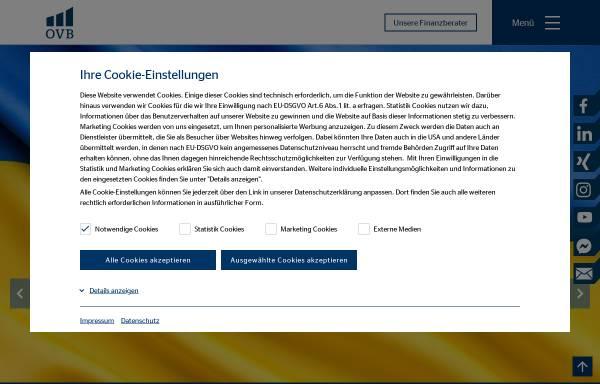 Vorschau von www.ovb.de, OVB-Vermögensberatung AG