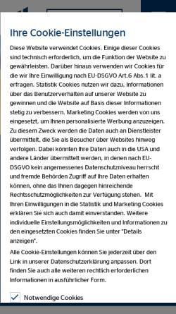 Vorschau der mobilen Webseite www.ovb.de, OVB-Vermögensberatung AG