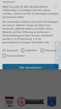 Vorschau der mobilen Webseite vmz-online.de, V.M.Z. GmbH