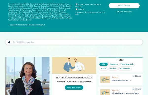 Vorschau von www.bremerlandesbank.de, Bremer Landesbank Kreditanstalt Oldenburg