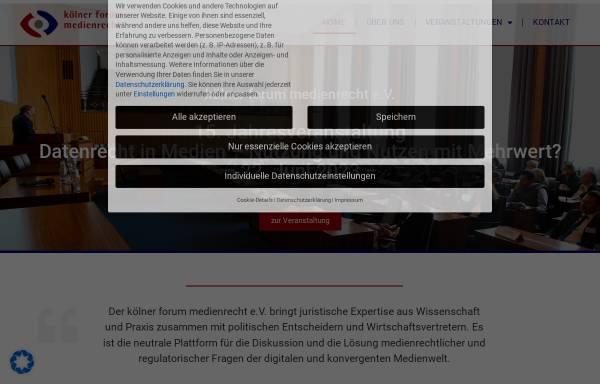 Vorschau von www.koelner-forum.de, Kölner Forum
