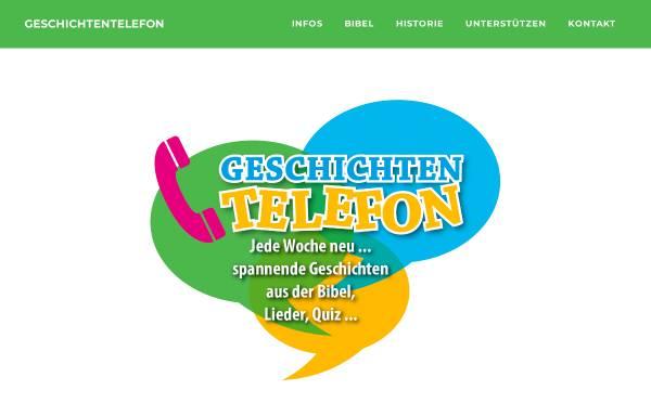 Vorschau von www.geschichtentelefon.de, Geschichtentelefon