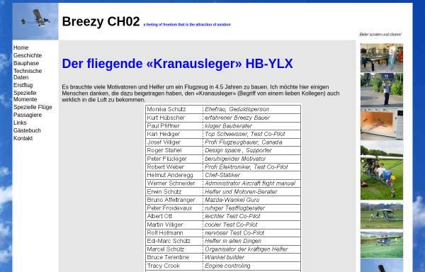 Vorschau von www.breezy.ch, Breezy CH02