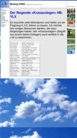 Vorschau der mobilen Webseite www.breezy.ch, Breezy CH02