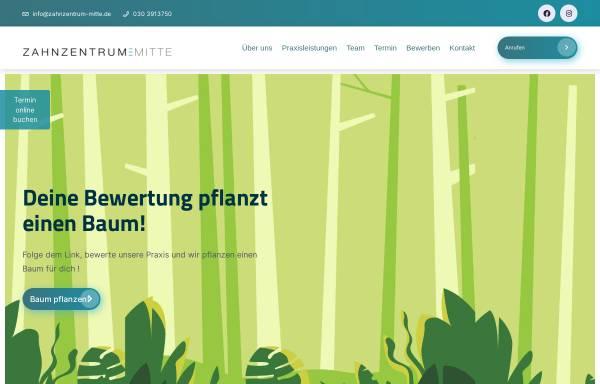 Vorschau von www.zahnzentrum-mitte.de, Zahnärzte Ayse und Babak Sabahi