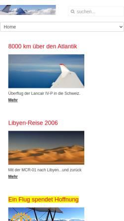 Vorschau der mobilen Webseite www.mcr01.ch, MCR 01