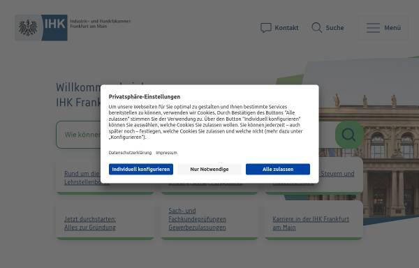 Vorschau von www.frankfurt-main.ihk.de, IHK - Frankfurt am Main