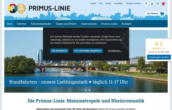 Vorschau von www.primus-linie.de, Primus-Linie