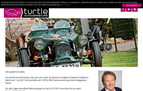 Vorschau von www.turtlerent.de, Turtle Rent Autovermietung GmbH