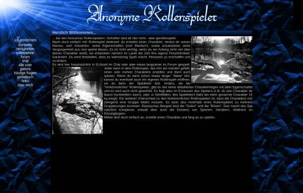 Vorschau von www.anonyme-rollenspieler.de, Anonyme Rollenspieler