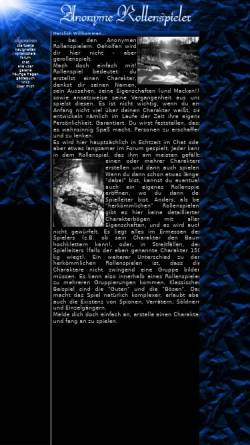 Vorschau der mobilen Webseite www.anonyme-rollenspieler.de, Anonyme Rollenspieler
