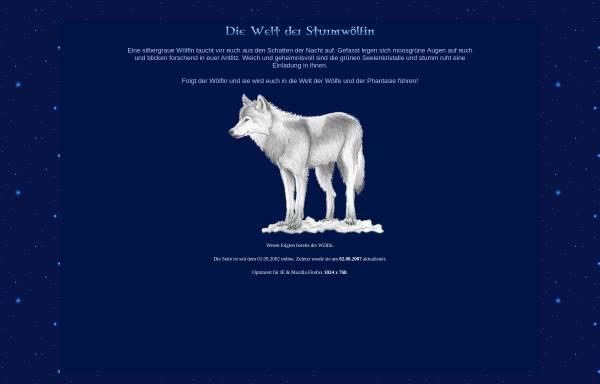 Vorschau von www.sturmwoelfin.de, Das Reich der Wölfin des Sturms