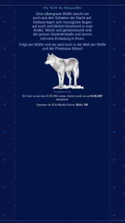 Vorschau der mobilen Webseite www.sturmwoelfin.de, Das Reich der Wölfin des Sturms