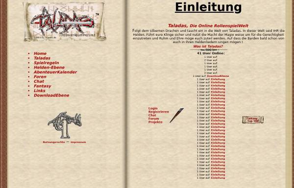 Vorschau von www.taladas.de, Taladas