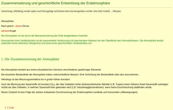 Vorschau von private.freepage.de, Atmosphäre