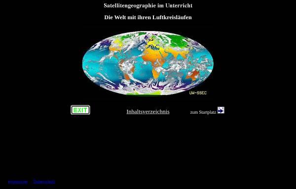Vorschau von satgeo.zum.de, Kleines Glossar zu Luftkreisläufen