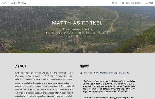 Vorschau von www.m-forkel.de, Das Klima der Erde
