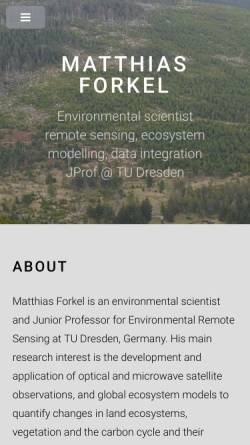 Vorschau der mobilen Webseite www.m-forkel.de, Das Klima der Erde