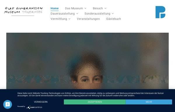 Vorschau von www.olaf-gulbransson-museum.de, Tegernsee, Olaf Gulbransson Museum
